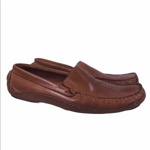 Clark's Leather Slip On Comfort Loafer Shoes